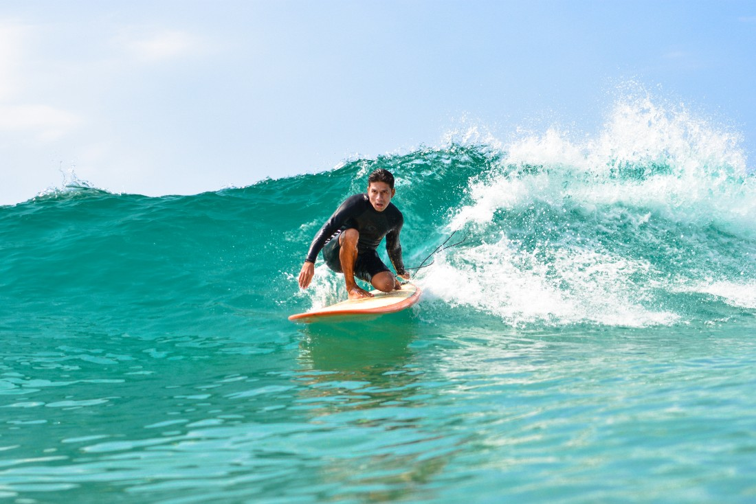 Surfing in Baja California with High Tide Los Cabos