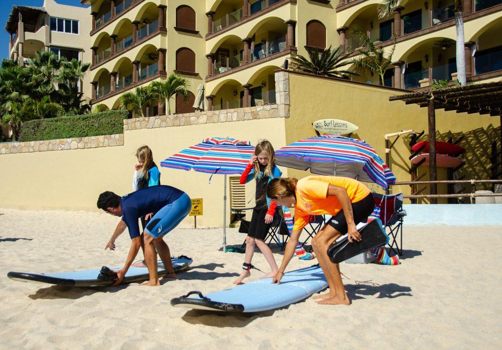 Los Cabos Mexico beach surfing